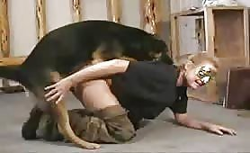 House wife sex with dog