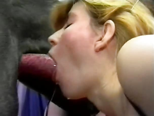 Lena K in BFI - Horny Girls Fucking A Dog